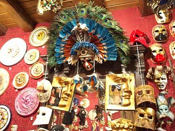 Venedig, Masken für den Carneval