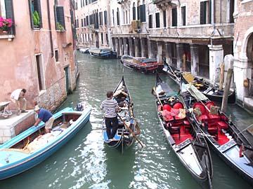 Venedig, Blick vom Canal Grande