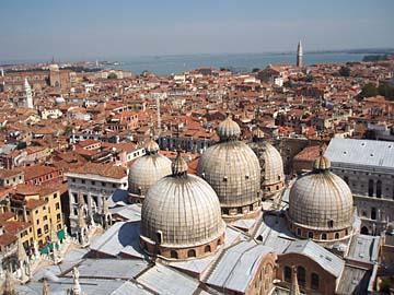Venedig, vom Campanile di San Marco