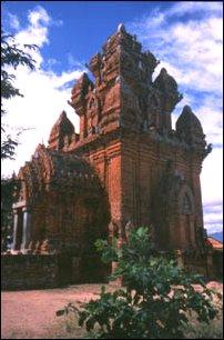 Die Cham-Türme von Türme von Po Klong Garai, Vietnam