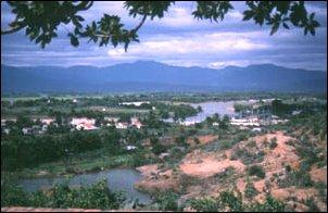 Landschaft im südlichen Vietnam