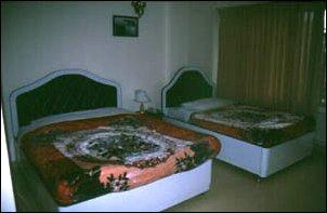 unser hotelzimmer in dalat, vietnam