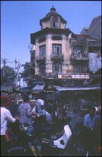 am Russischen Markt in Saigon, Vietnam