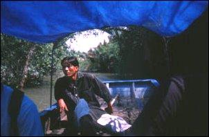 das Mekong Delta vor Saigon, Vietnam