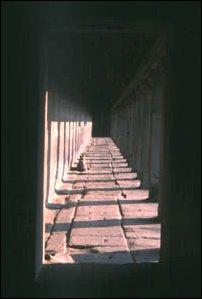 Gänge im Tempel von Angkor Wat, Kambodscha