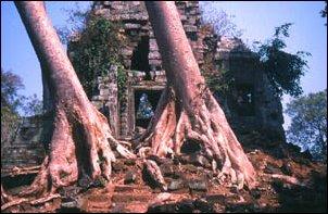 Preah Palilay in der Anlage von Angkor, Kambdoscha