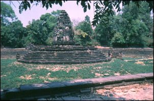 Brunnen in Preah Khan, Angkor in Kambodscha