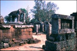 Tempel in Angkor, Kambodscha