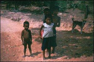 Kinder in Siem Reap bei Angkor in Kambodscha
