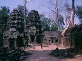 Die spektakuläre Tempelanlage von Angkor in Kambodscha