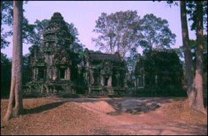 die Ruinen von Angkor, Kambodscha