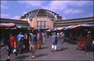 Der Psar Thmei Markt in Phnom Penh, Kambodscha