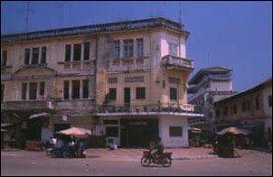 Auf den Straßen von Phnom Penh, Kambodscha