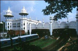 der Bahnhof von Kuala Lumpur, Malaysia
