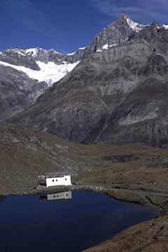 Schwarzsee, beim Aufstieg zur Hörnlihütte, Wallis, Schweiz