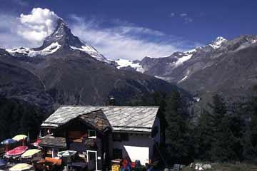 Riffelalp mit Matterhorn, Wallis, Schweiz