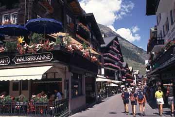in Zermatt, Wallis, Schweiz