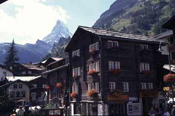 Zermatt mit Matterhorn, Wallis, Schweiz