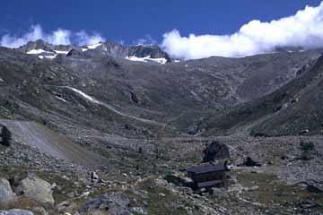 Landschaft um Almageller Alp, Wallis, Schweiz