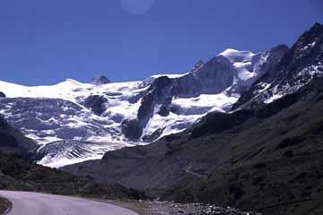 Aufstieg zur Moiryhütte, Wallis, Schweiz