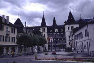 in Sierre, Wallis, Schweiz