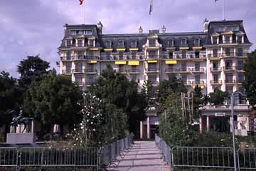 in Lausanne, Wallis, Schweiz