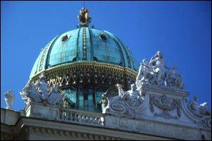 die Hofburg in Wien