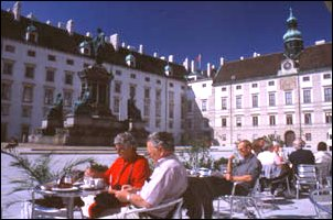 Innenhof der Hofburg zu Wien