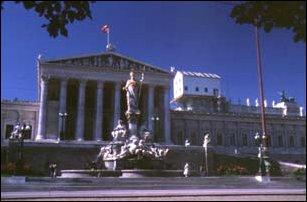 das Parlament von Wien
