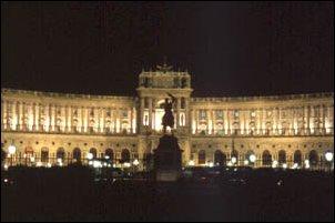 die Hofburg Wien, Österreich