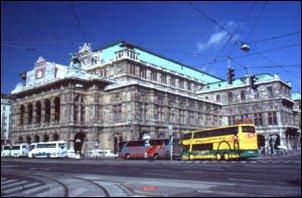 die Staatsoper in Wien