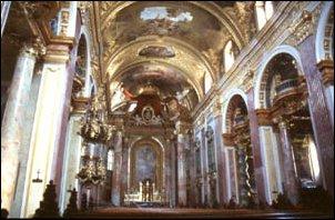 die Jesuitenkirche in Wien