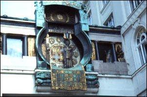 die Anker-Uhr in Wien
