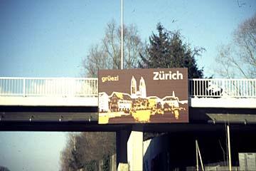 Grüezi Zürich: Willkommen in Zürich in der Schweiz