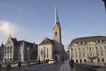 das Frauenmünster in Zürich