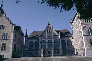 das Landesmuseum in Zürich