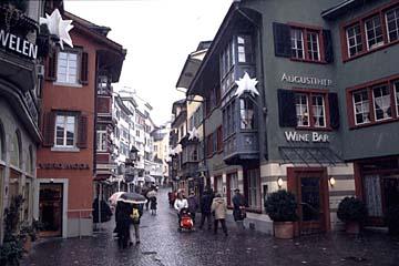 die Augustinergasse in Zürich
