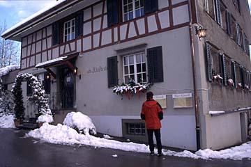 das alte Klösterle am Zürichberg in Zürich